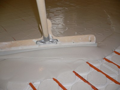 Screed Application